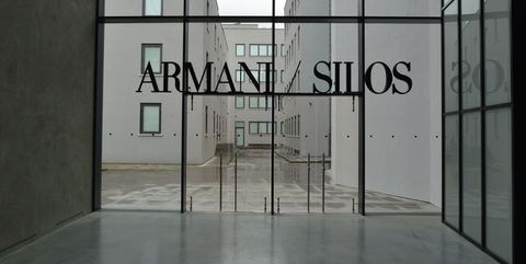 competitive price 1b7f7 61e37 Milan Armani/Silos Museum