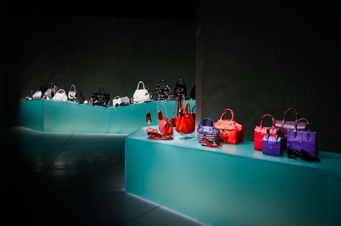 Armani/Silos fashion shows accessories exhibition, Milan