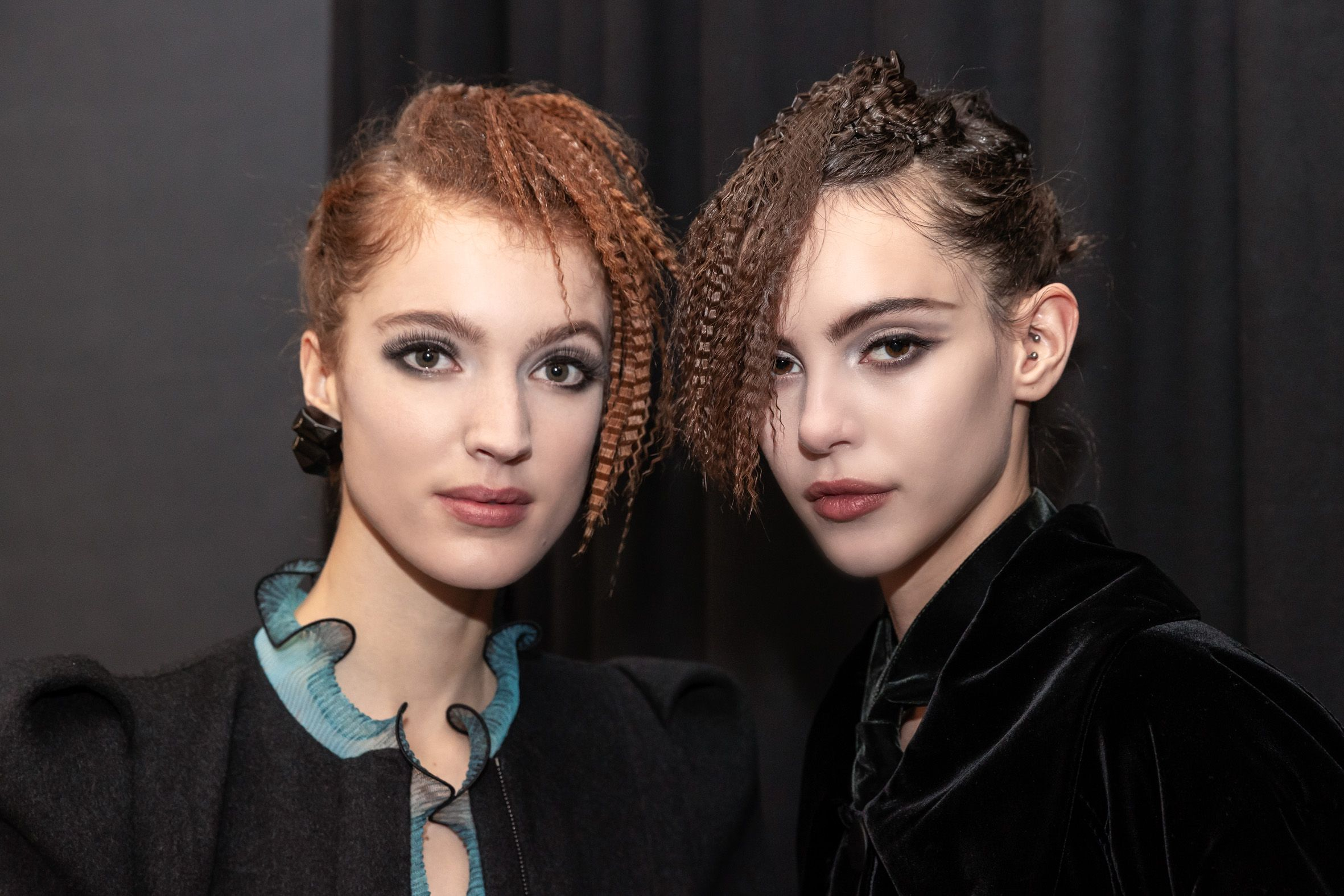 The Best Backstage Hair Looks From Fashion Week AW21