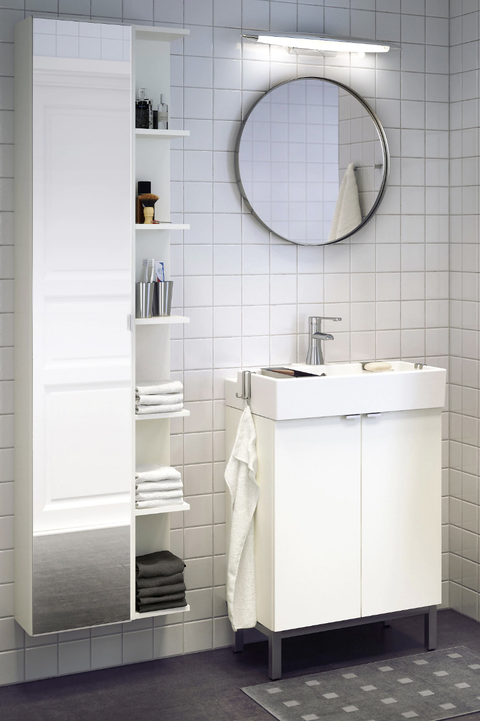 Armario con espejo LILLÅNGEN de IKEA
