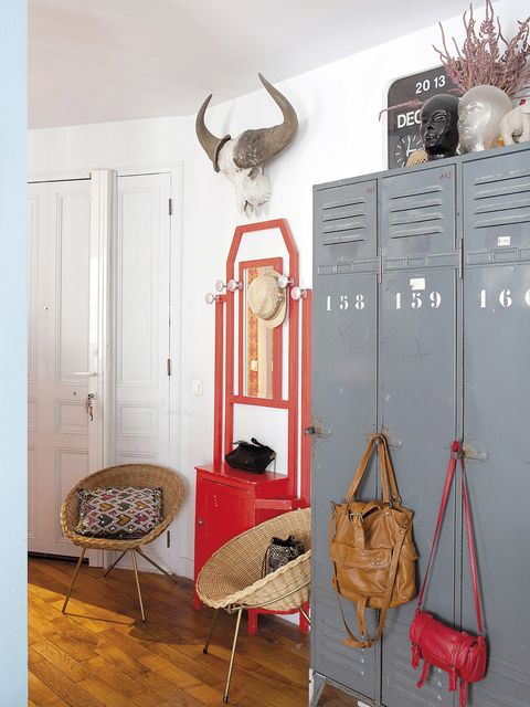 Room, Furniture, Interior design, Floor, Wall, Design, Clothes hanger, Flooring, House, Building,