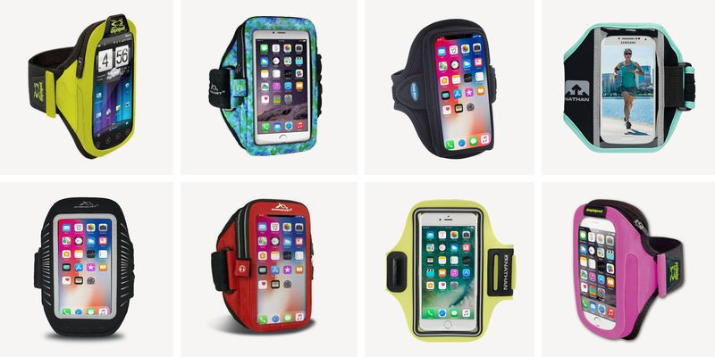 iPhone Cell Phone Arm Bands for Runners Black and White Jogging Cell Case for iPhones Snailman Running Phone Holder Sports Armband Walking Cycling Exercise /& Gym Workout