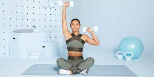 Workout voor je armen en je buikspieren