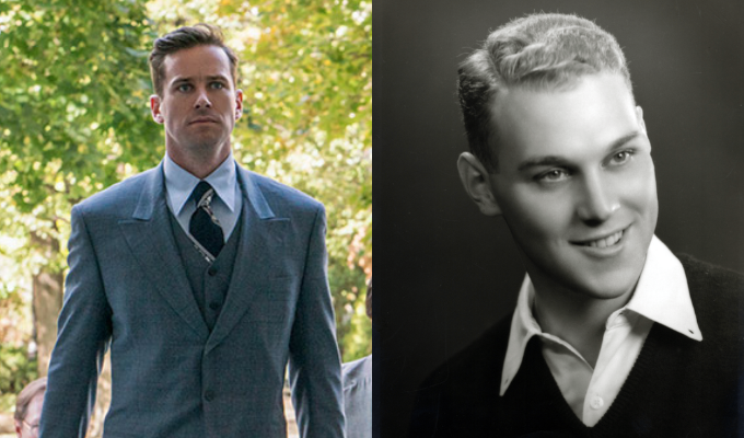 Armie Hammer as Marty Ginsburg