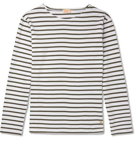 camiseta marinera hombre, camiseta rayas hombre, camiseta primavera