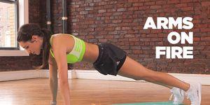 kayla itsines arm workout