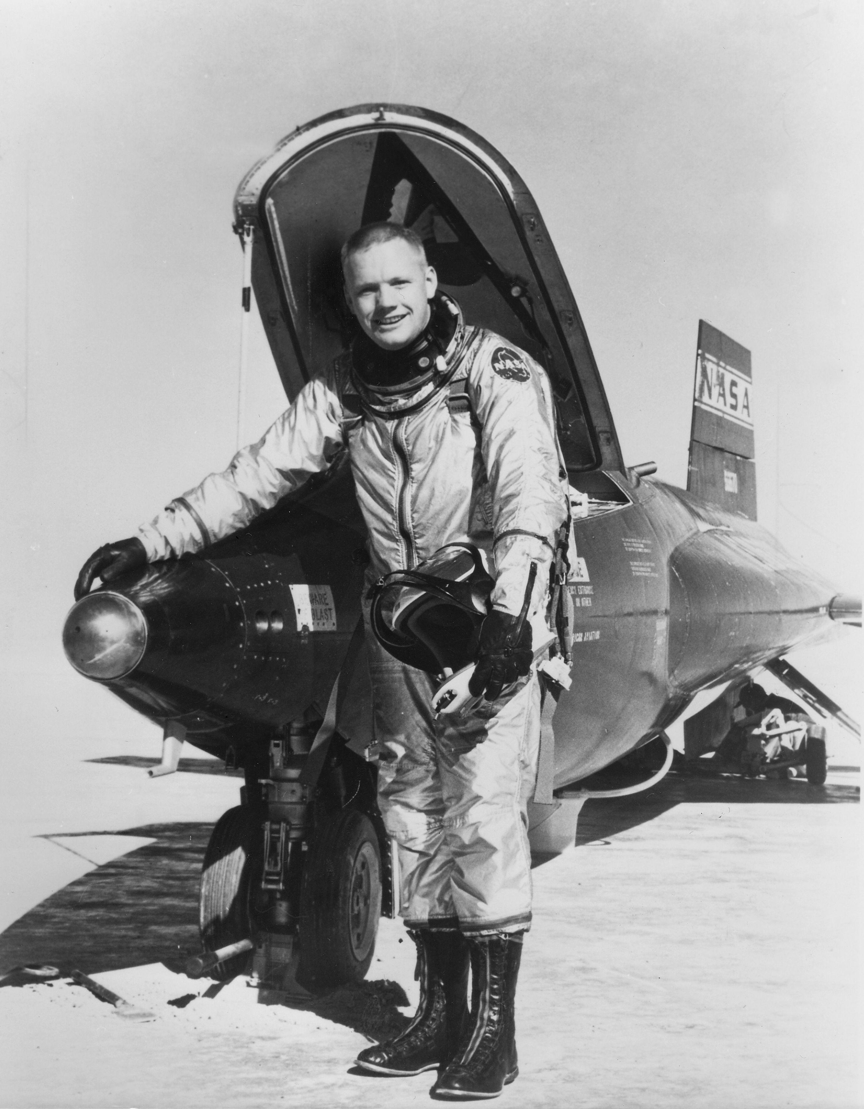 Armstrong, Neil - Astronaut, USA/ undatiert