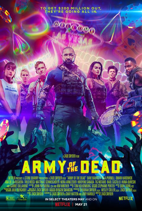 zombie movies army of the dead