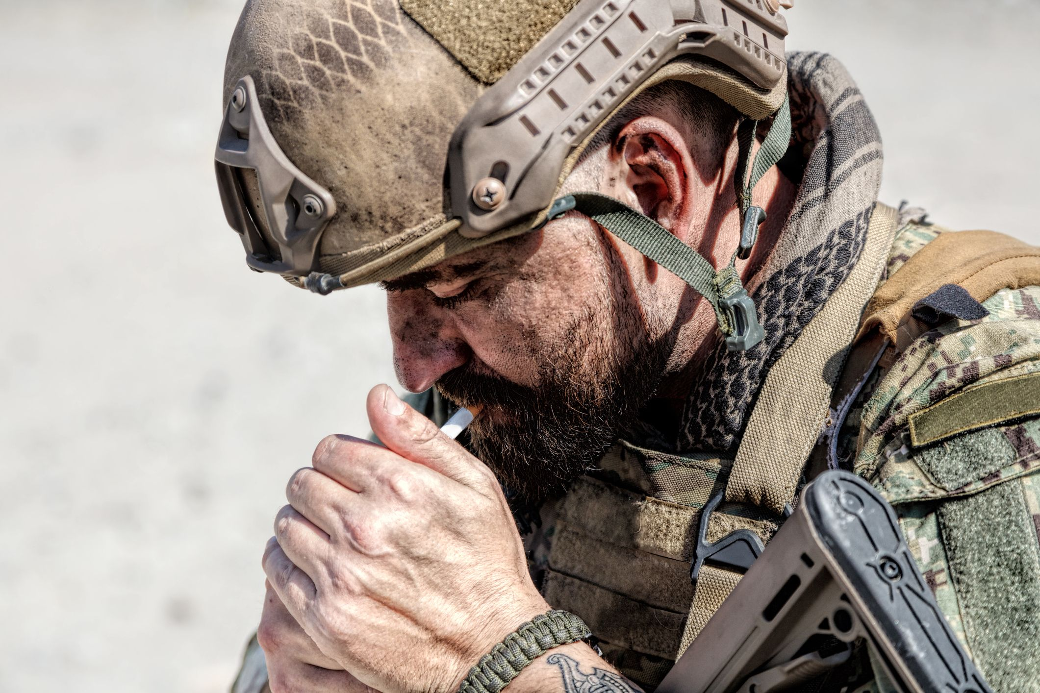 Why The British Army Is Right to Ban Recruits from Smoking