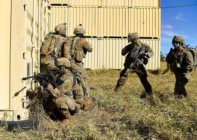 international troops train in townsville as part of exercise southern jackaroo