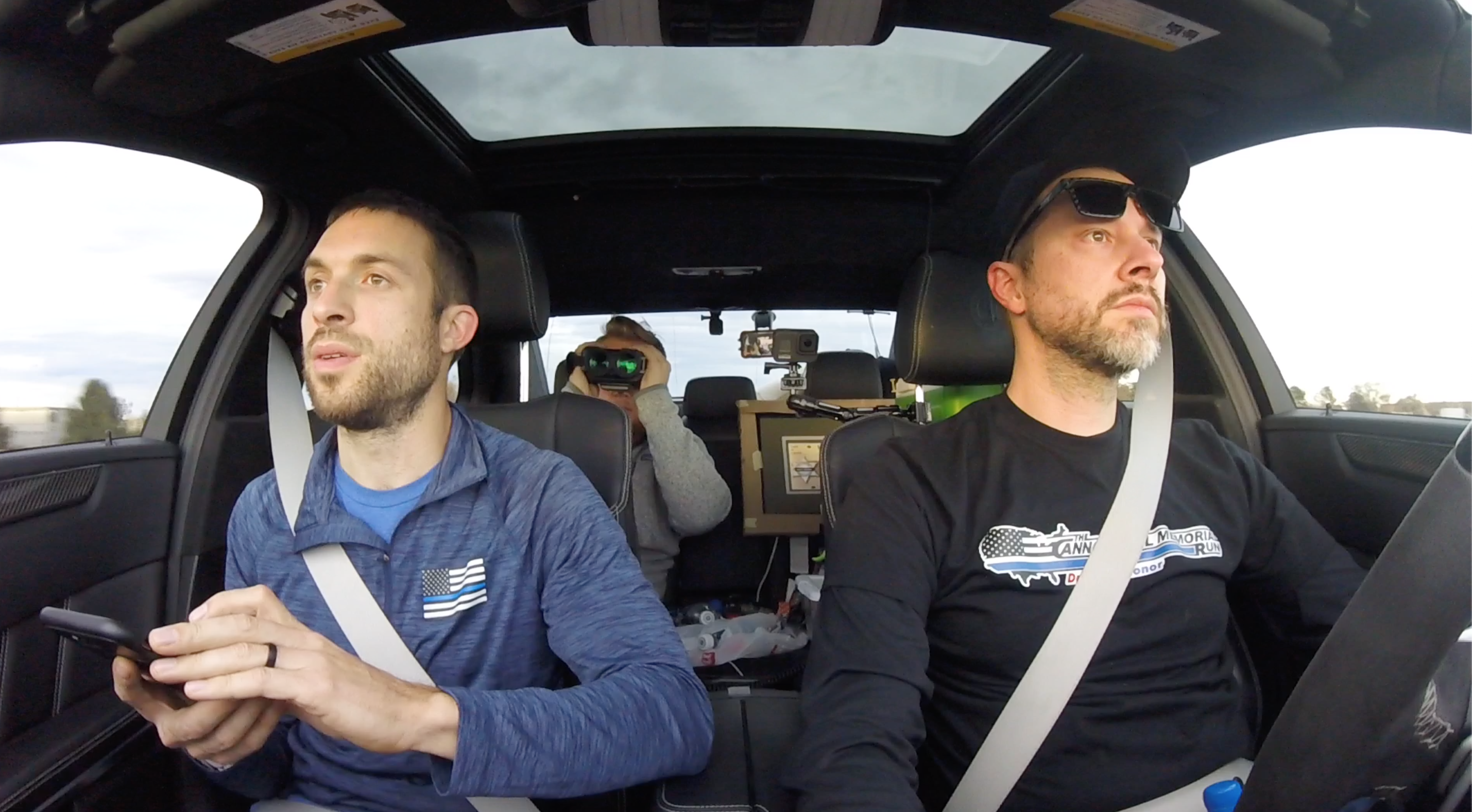 These Guys Just Drove an E63 AMG Across America in a Record 27 Hours 25 Minutes
