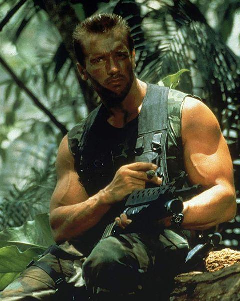 Arnold Schwarzenegger in 'Predator'