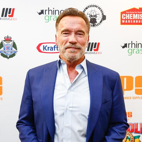 Arnold Schwarzenegger speaks out after being kicked in the back while judging a skipping competition
