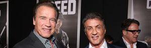 Arnold Schwarzenegger,Sylvester Stallone, rambo, troleo