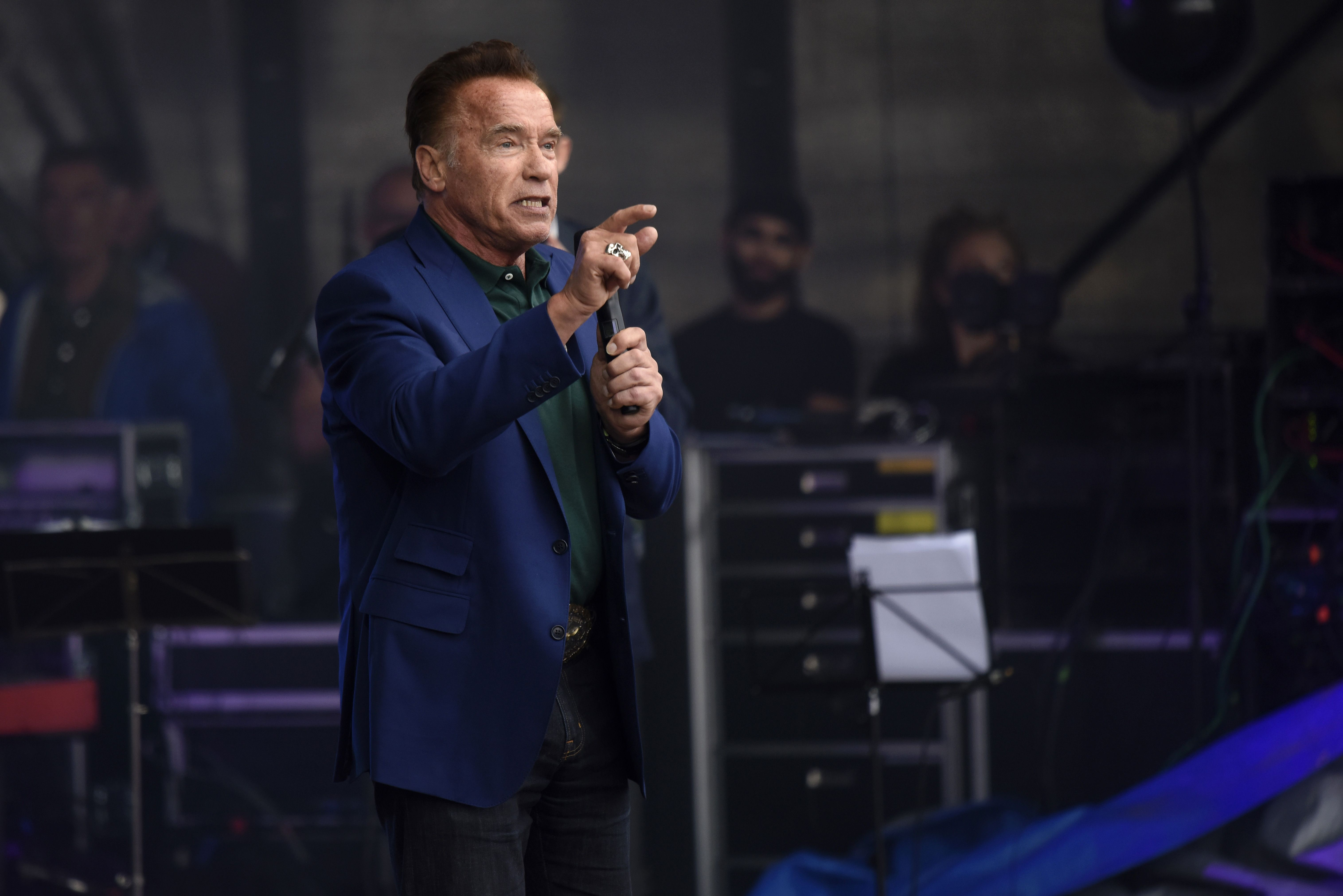 Arnold Schwarzenegger Just Dropped A Rap Track And It S