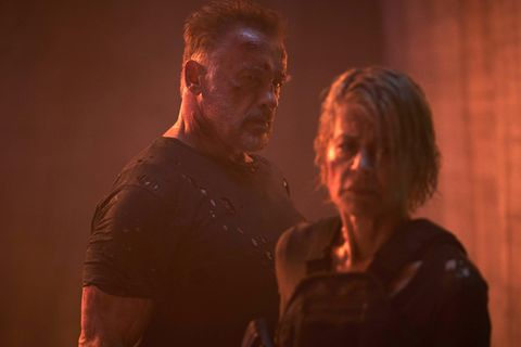 Arnold Schwarzenegger, Linda Hamilton, Terminator: Dark Fate