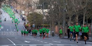 San Silvestre Vallecana Race In Madrid