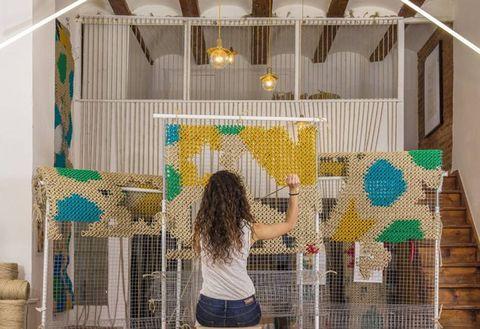 La arquicostura, elproyecto de arte urbano que teenamorará (by Raquel Rodrigo)