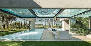Las piscinas que se integran en tu casa reconvertidas en arte