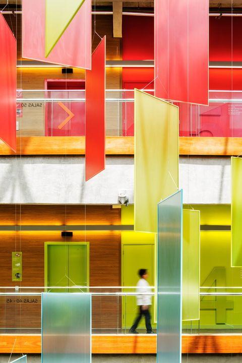 Arquitectura con color: Nova Unidade Senac São Miguel Paulista. Levisky Arquitetos y Estratégia Urbana.