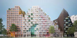 Arquitectura futurista en Amsterdam