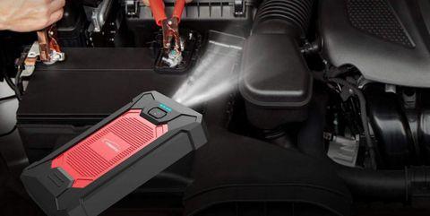 arrancador baterias portatil coche