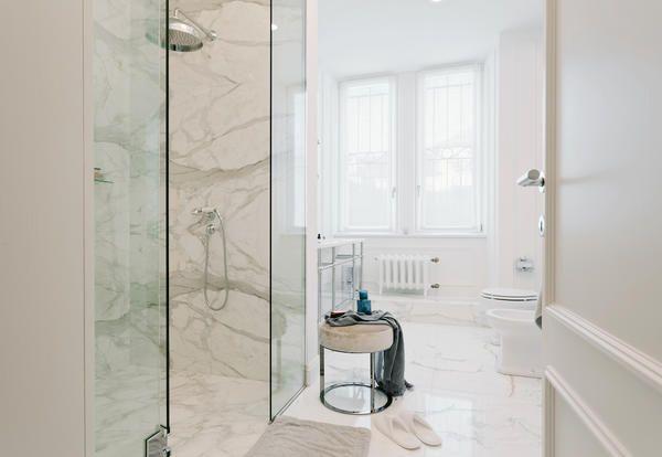 Lungo Il Corridoio In Inglese : Arredamento in stile inglese e design italiano per un appartamento
