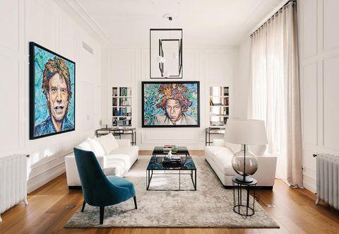 Arredamento in stile inglese e design italiano per un appartamento a ...