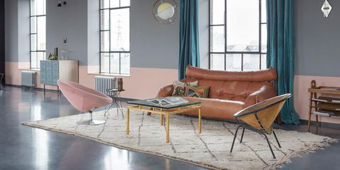 Vintage furnishings in a Budapest loft located in a former ...