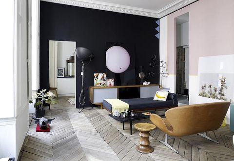 Room, Living room, Interior design, Furniture, Property, Building, Wall, Floor, Table, Ceiling,