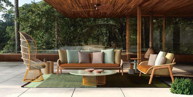 Credenza Per Giardino : Le novità di arredo giardino viste al salone del mobile 2018