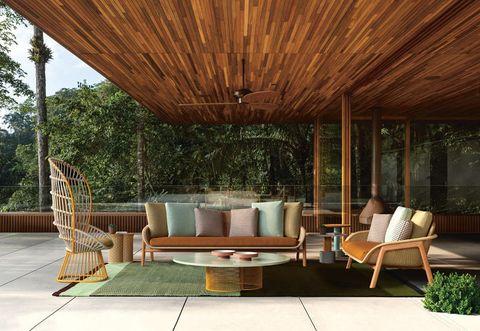Le novità di arredo giardino viste al salone del mobile 2018