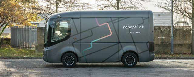 2021 arrival van prototype