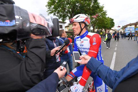 Arnaud Démare snelste daler Giro d'Italia etappe 8