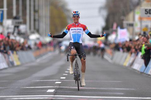 Bob Jongels wint Kuurne-Brussel-Kuurne 2019