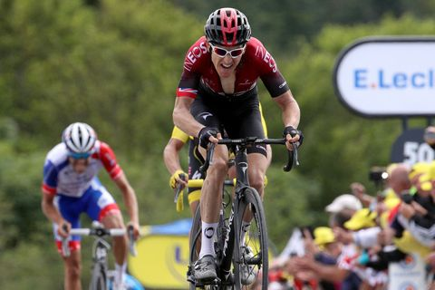 Geraint Thomas Isn't Going Quietly