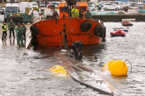 The Trawling Of The 'Narcosubmarine' Continuous After Get Hooked On Nets A Mile From Aldan