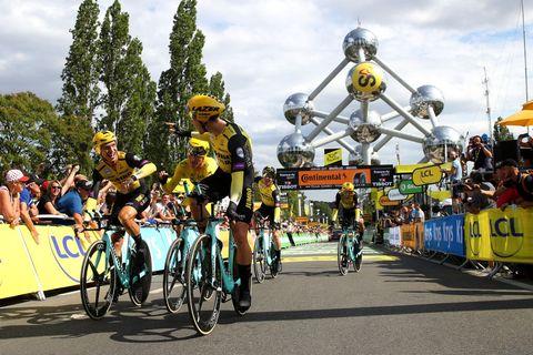 Tour de Social 2019 Ploegentijdrit Brussel