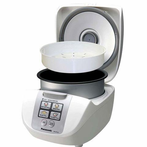 Cocinar arroz: arrocera eléctrica