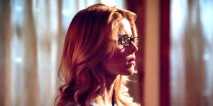 Emily Bett Rickards as Felicity Smoak, Arrow season 7 finale