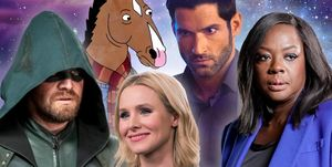 Arrow, BoJack Horseman, Lucifer, The Good Place, How to Get Away with Murder