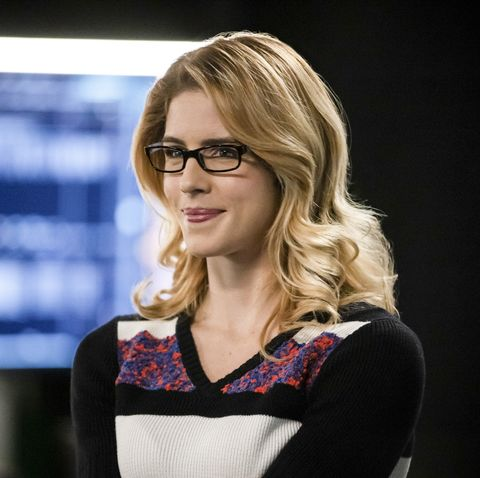 Arrow season 7 - Emily Bett Rickards as Felicity Smoak