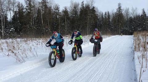 Fat Bikers Brave Minnesota Polar Vortex for 135-Mile Race
