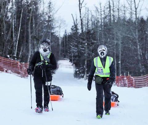 Runners Brave Minnesota Polar Vortex for 135-Mile Ultramarathon