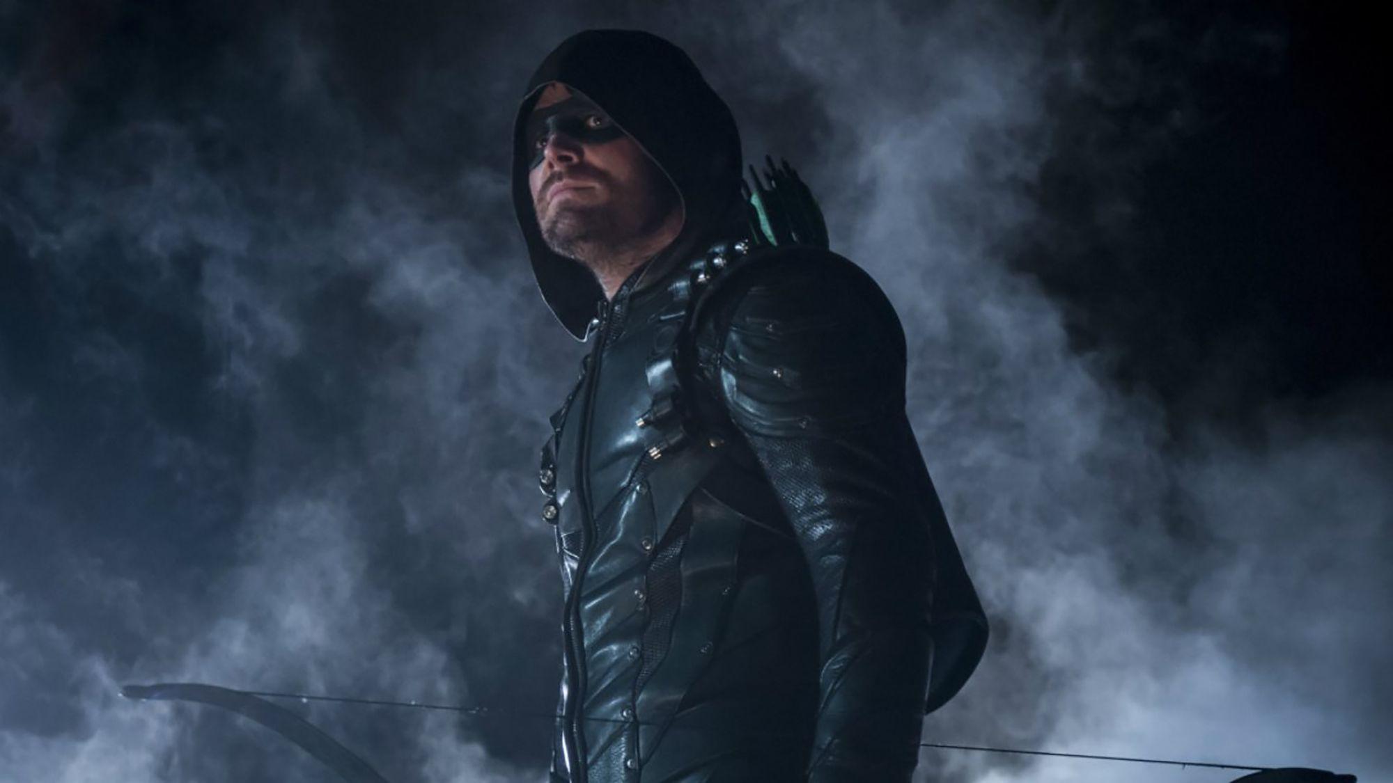 Los superhéroes del Arrowverse se despiden de Oliver Queen