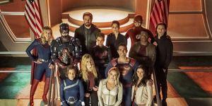 DC Arrowverse heroes