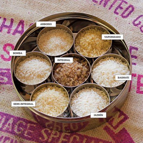 arroz variedades y tipos