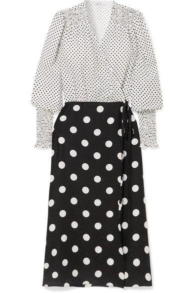 Art Dealer polka dot dress
