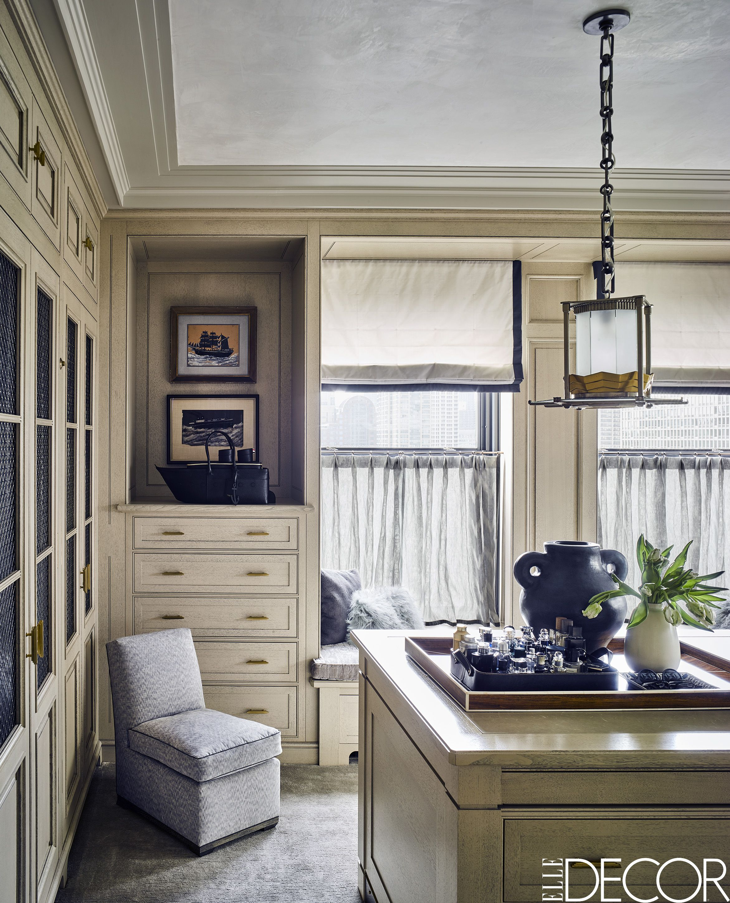 Captivating Art Deco Apartment Steven Gambrel