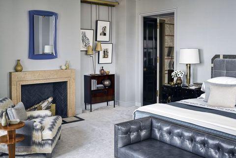 best art deco bedrooms